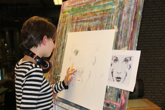 Kunstzinnige cursus via arts and crafts holland for Cursus interieur tekenen